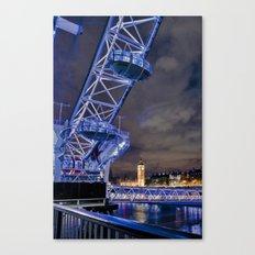 Big City Skyline Canvas Print