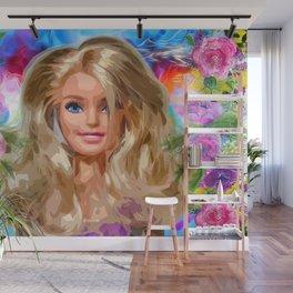 Barbie Wall Mural