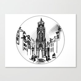 UT BOX SET/5 domtoren Canvas Print