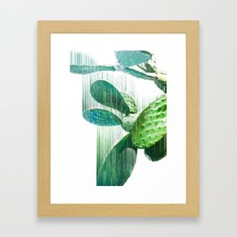 Faster than the speed of CACTUS Framed Art Print