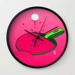 Pongermelon Wall Clock