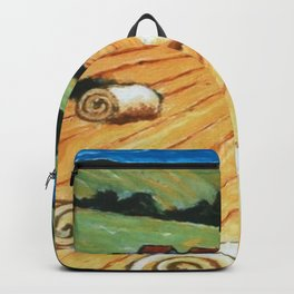 Hay bales Backpack