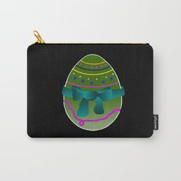 Egg green and blue Bow 03 Carry-All Pouch
