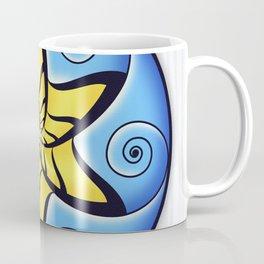 Mandala Spiral Star Coffee Mug