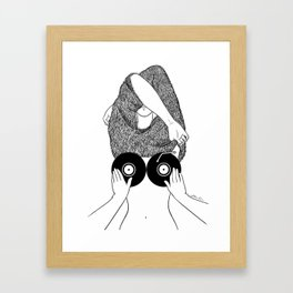 Sound Making Framed Art Print