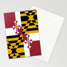 State flag of Flag Maryland Stationery Cards