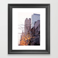 It was a magical morning Framed Art Print