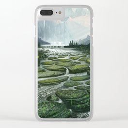The Great Waterfall Clear iPhone Case