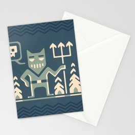 Skull collector Stationery Cards
