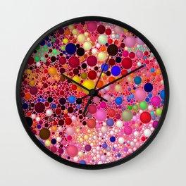 Bubblegum Yum Wall Clock