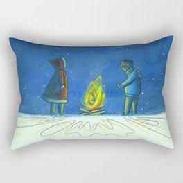 Stay Warm Rectangular Pillow