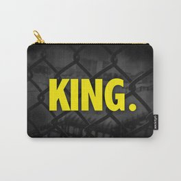 """Urban Font """"King"""" Street Design Style Carry-All Pouch"""