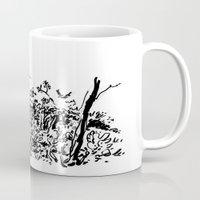 sketch Mugs featuring sketch by geoffroy dussart