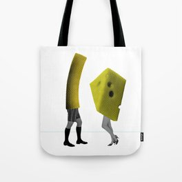 Because she's the cheese and I'm the macaroni Tote Bag
