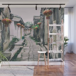 chinese ancient village Wall Mural