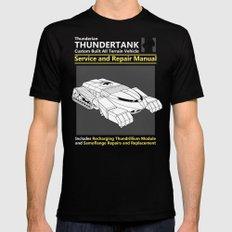 Thundertank Service and Repair Manual Black MEDIUM Mens Fitted Tee