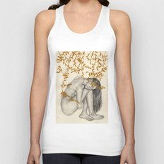 The Fragility Of Being Human Unisex Tank Top