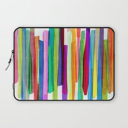 Colorful Stripes 1 Laptop Sleeve