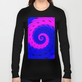 rotation spiral Long Sleeve T-shirt