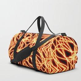 Flaming Chaos 8 Duffle Bag
