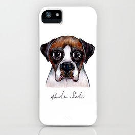 Jake The Boxer iPhone Case