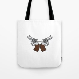 """""""Everyday Carry Use Break Through Clean"""" for both cool and gun lovers like you! Stay brave!  Tote Bag"""