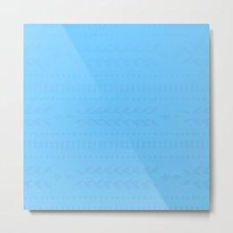Maya Blue Metal Print
