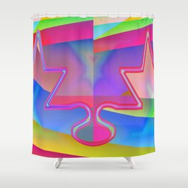 United divided ... Shower Curtain