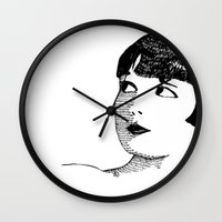 deco Wall Clocks featuring Deco by Addison Karl
