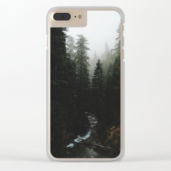 Rainier Creek Clear iPhone Case