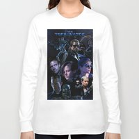 terminator Long Sleeve T-shirts featuring Terminator Saga by Saint Genesis