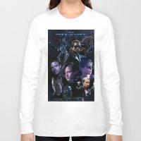 saga Long Sleeve T-shirts featuring Terminator Saga by Saint Genesis