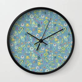Moving Home House Warming - Blue Wall Clock