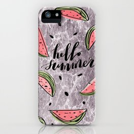 Hello Summer! iPhone Case