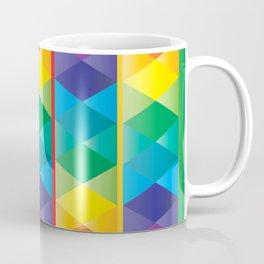 Rainbow Cube Coffee Mug