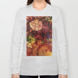 Brillant Flower Long Sleeve T-shirt