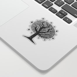 The dreaming tree Sticker