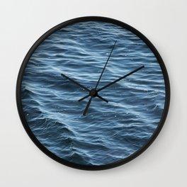 Ocean Wave Pattern 1 Wall Clock