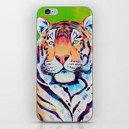 """Tiger art """"Shining Bright"""" iPhone Skin"""