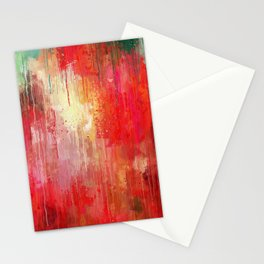 Abstract Project Stationery Cards