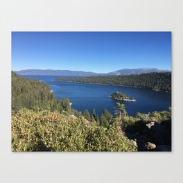 Tahoe in Fall Canvas Print