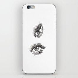 Eye of the Tigeress iPhone Skin