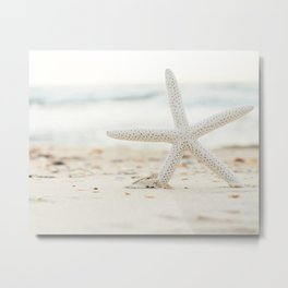 Hello Starfish Metal Print
