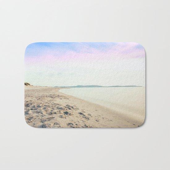 Sand, Sea and Sky - Relaxing Summertime Bath Mat