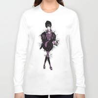 baroque Long Sleeve T-shirts featuring Baroque by ESZAdesign™