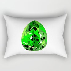 GEMS - green , expensive look , luxury and shine Rectangular Pillow