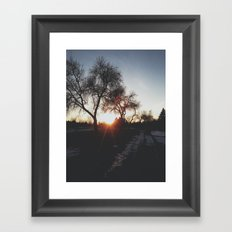 leak II Framed Art Print
