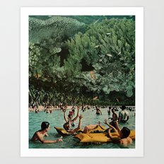 Forests of the Sea Art Print