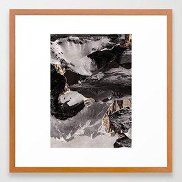 Communication series Framed Art Print