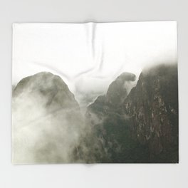 Among The Gods  Throw Blanket